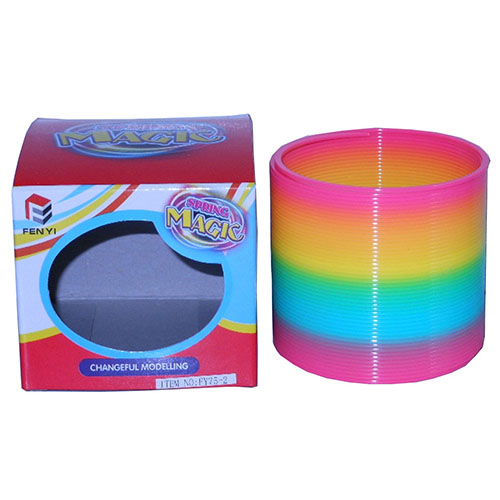 3 INCH Rainbow Magic Spring